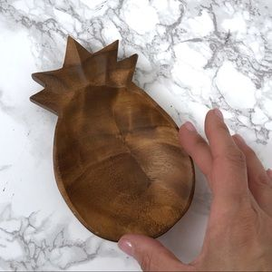 Vintage Wooden Pineapple Tray